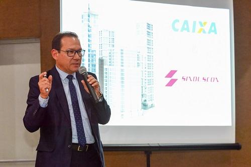Sinduscon Paraná recebe vice-presidente da CAIXA para Reunião com Associados