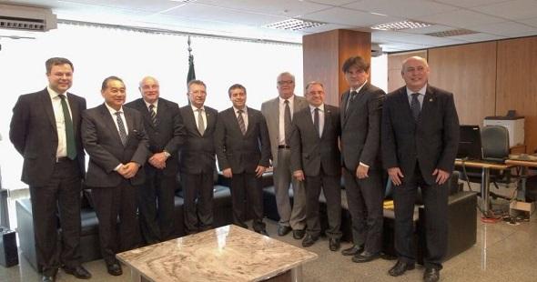 Construção civil apresenta agenda do setor ao novo Ministro do Trabalho