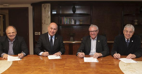 Sesi e Seconci oficializam parceria para ampliar serviços à indústria da construção civil
