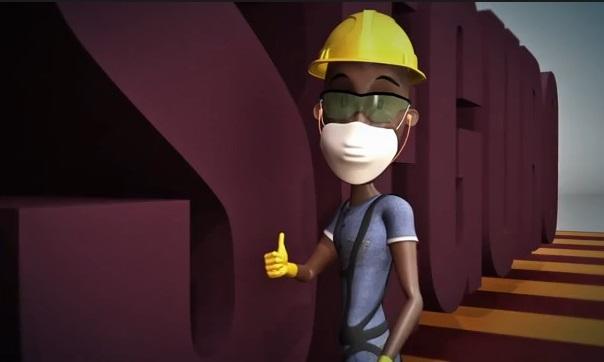 Disponíveis videos educativos sobre segurança do trabalho