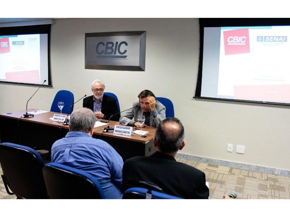 Indústria 4.0 e o futuro da construção são discutidos em reunião da Comat/CBIC