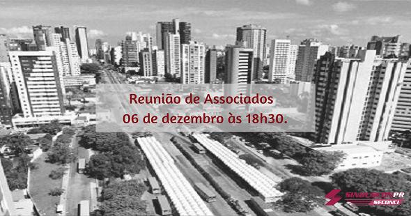 Última Reunião de Associados acontece dia 06 de dezembro