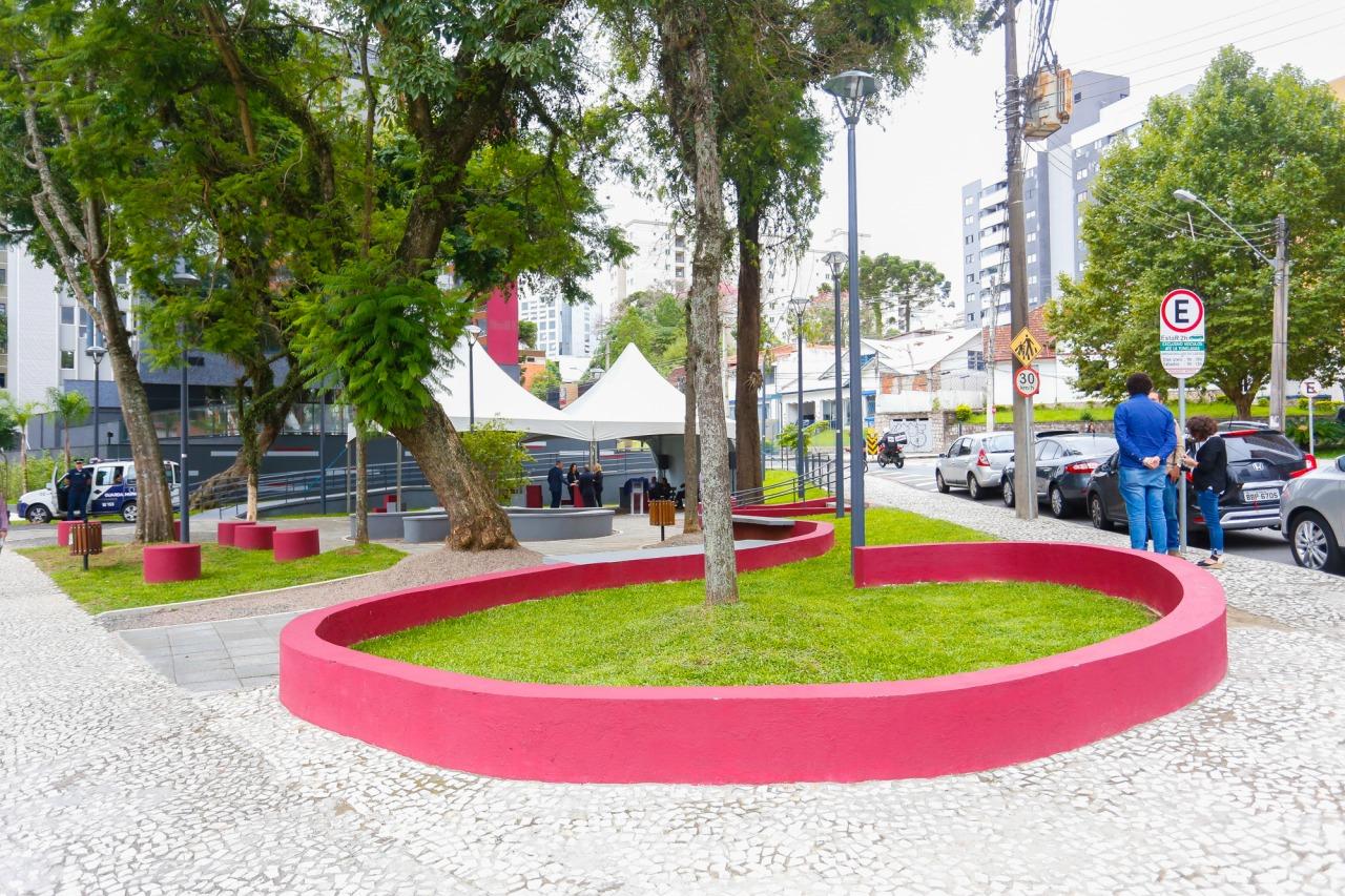 Reinauguração Praça José Knopfholz
